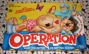 Operation Game Replacement Parts & Pieces 2015 Hasbro