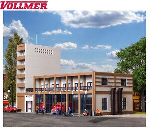 Vollmer H0 43759 Städtischer Feuerwehrstützpunkt, fünfständig - NEU + OVP