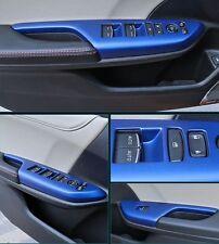 For Honda Civic 4Dr Sedan 2016 2017 Blue ABS Window Armrest Lift Switch Cover