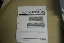 Yamaha DGX-305/DGX-505 Portable Grand Overall Circuit Diagram