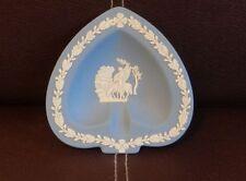 Wedgwood Blue Jasperware Etruscan Relief Trinket dish - free UK postage