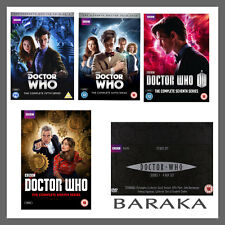 Doctor Who Complete Seasons Series 1, 2, 3, 4, 5, 6, 7 & 8 DVD Box Set New