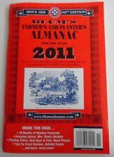 Blum's Farmer's and Planter's Almanac 2011 Book Booklet Magazine Excellent Copy