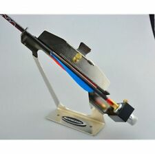 Carbon Fiberglass Arrow Aluminum Archery Fletching Jig Right Or Left Adjustable