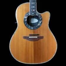 Ovation Custom Legend Acoustic Guitar w/ GK Pickup (Natural), Pre-Owned