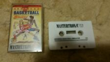 Advanced Basketball Video Game Cassette Commodore 64 C64/C128 💜💜💜 FREE POST