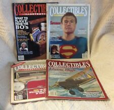 4 Collectibles Illustrated Magazines 1982, 1983, 1984 - Includes Vol.1, No.1