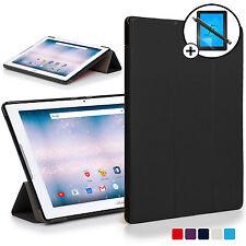 Negro Funda Smart Carcasa para Acer Iconia One 10 B3-a30 Protector de Pantalla