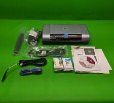 New HP Deskjet 450cI Mobile Inkjet Printer C8111A w/ New Toner Battery