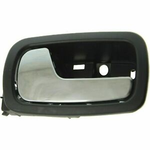 NEW LH Left Front Inside Door Handle Chrome Black for 2005-2010 Cobalt 07-10 G5