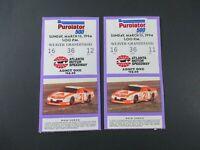 VTG 1994 Atlanta PUROLATOR 500 Nascar 2 Ticket Stubs ERNIE IRVAN Car Race Winner