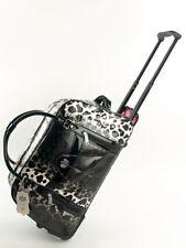 Weekender Reisetasche Wochenendetasche Trolley Leoparden Look  Design by LYDC 27
