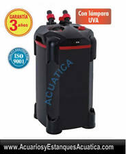 TURBOJET PLUS TJ608V 650L/H FILTRO EXTERIOR ACUARIOS CON UV ULTRAVIOLETA 5W