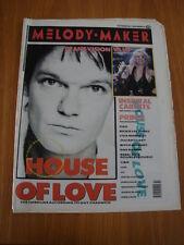 MELODY MAKER 1989 OCTOBER 28 HOUSE OF LOVE TRANSVISION VAMP INSPIRAL CARPETS
