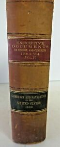 Executive Documents 1st Session 48th Congress 1883-84 Commerce Navigation #2666