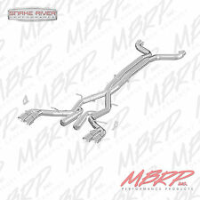 "MBRP 3"" QUAD TIP CAT BACK RACE EXHAUST 2016-2019 CHEVY CAMARO 6.2L 6 SPEED"