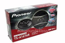 "New Pioneer TS-A1676R 320 Watt 6.5"" 3-Way Coxial Car Audio Speakers 6-1/2"""