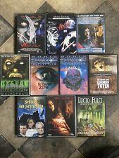 Horror DVD Sammlung Konvolut 15 Grusel Mystery Filme Boris Karloff Fulci Wisher