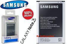 BATTERIA ORIGINALE 100% IN BLISTER PER SAMSUNG GALAXY NOTE 3 SM-N9005 EB-B800BEB