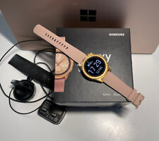 Samsung Galaxy 42mm Case SM-R810 Bluetooth Smartwatch-Rose Gold Great Condition