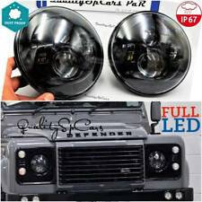 Coppia Fari LED anteriori Land rover DEFENDER 90 td5 110 Headlights 7'' H4 OMOLO