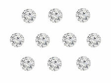 10pc 0.31cts Total 2mm Natural Loose Brilliant Diamond Lot G Color SI Clarity