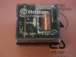 40.11.7.024.4300 Relais Spulenspannung Coil Voltage 24V  10A 250Vac, finder