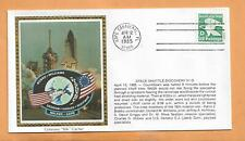 SHUTTLE DISCOVERY STS-51-D LAUNCH APR 12,1985 CAPE CANAVERAL  COLORANO