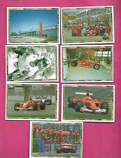 7 X 2003 PANINI FERRARI STICKERS  CARD  (INV# C3089)