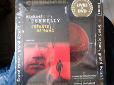 C38 / LIVRE + DVD THRILLER CREANCE DE SANG Clint EASTWOOD neuf sous cello