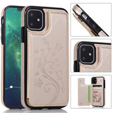 Case For iPhone 11 /11 Pro / 11 Pro Max Magnetic Flip Leather Wallet Stand Phone