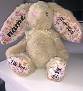Personalised Baby Gift/Toy/Comforter/Bunny/Keepsake