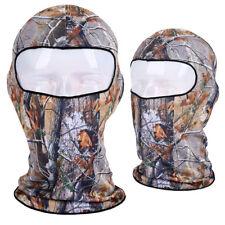 USA Balaclava Full Face Mask Real Tree Camo Camouflage Hunting Fishing Hat Cap