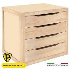 Astigarraga Cassettiera in legno Massello 4 Cassetti 39X30X37.5h - BLNA92.68