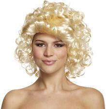 80s Parrucca Riccia Biondo Madonna Donna Accessorio Per Costume Marilyn Monroe
