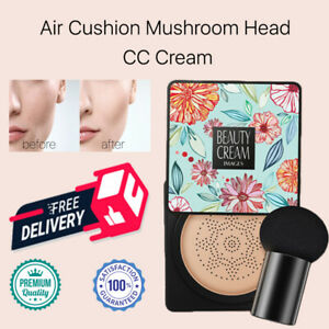 Air Cushion Mushroom Head CC Cream Concealer Moisturizing Lady Make up BB Cream
