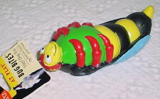 HARTZ * BUG BITES WITH SQUEAKER * GREAT DOG TOY *7 INCHES * VINYL * RED LEGS*