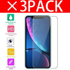 100% Genuine Tempered Glass Screen Protector Protection For Apple iPhone XR