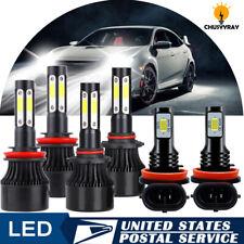 LED Bulb for Honda Civic 2016-2020 Headlight High Low Beam Fog Light 9005 H11 6X