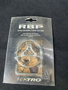 Tektro Cantilever RBP Brake Straddle Cable Triangle Silver