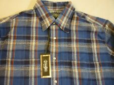 GITMAN BROS VINTAGE Idaho Plaid Flannel New With Tag $220 L Made In USA