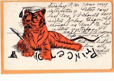 University and College Postcard - Princeton University Tiger