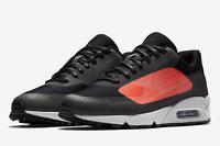 Nike Men's Air Max 90 NS GPX Running Shoes AJ7182 003Black/Bright Crimson Sizes