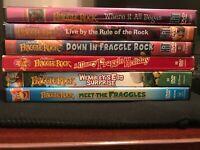 Fraggle Rock 6 DVD Lot