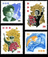 EBS East Germany DDR 1963 Soviet Cosmonauts Michel 993-996 MNH**