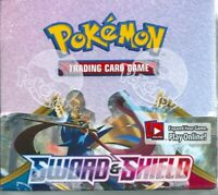 Pokemon  TCG sword and shield factory sealed 36 booster box-