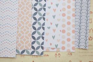 Midnight Blush pattern card stock scrapbooking paper card 250gsm craft cardstock
