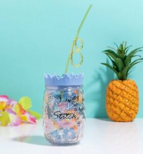 Official Disney Lilo and Stitch Aloha Cup with Straw from Funko