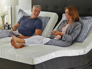 Split King Adjustable Bed with Mattresses and Free Shipping