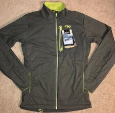 Outdoor Research Ascendant Jacket Polartec Pertex Gray NEW Men's Small $215